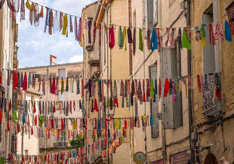 Старый город Монпелье (Франция)